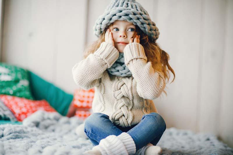 Frio niños