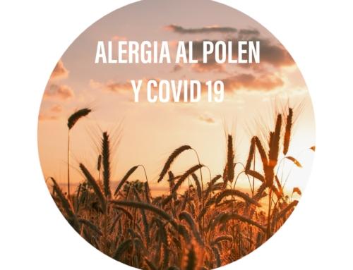 Alergia al polen y COVID 19